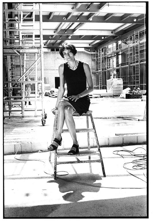 Portrait Brigitte Métra