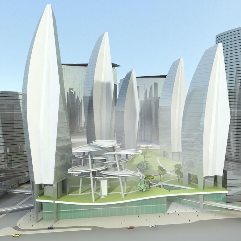Chroniques d 39 architecture la ville de portzamparc la for Architecture utopiste