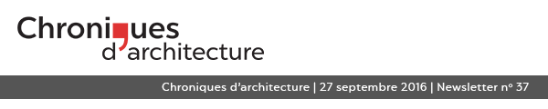 Site Internet de Chroniques d'architecture