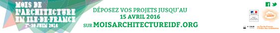 Vers le site Internet du Mois de l'Architecture en Île de France 2016