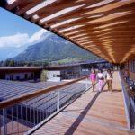 Un collège tout en bois pour les élèves de Varces (38) signé Roda-Klimine-Kopff