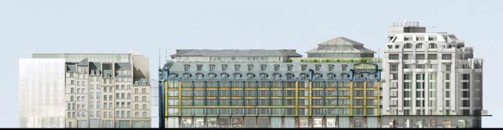 A la samaritaine pendant dix ans rien chroniques d 39 architecture - Francois brugel architecte ...