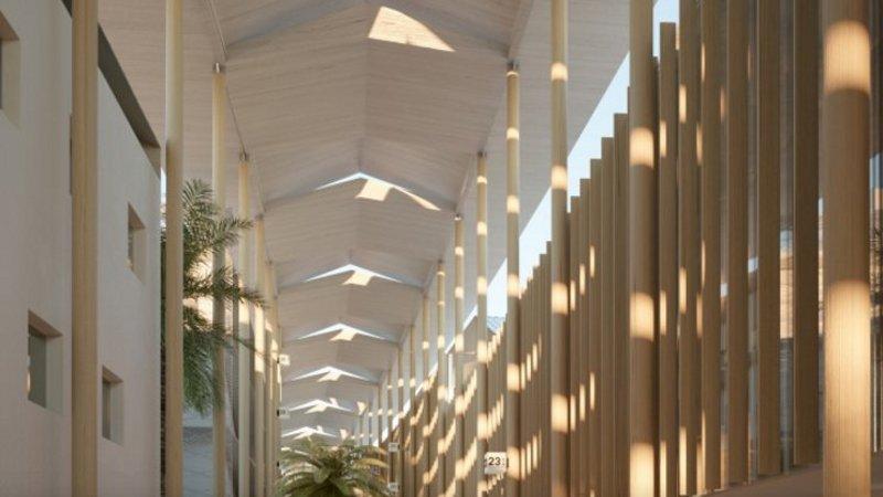 Au CHU de Pointe-à-Pitre, Architecture STUDIO, BABEL et A. NICOLAS sont d'équerre