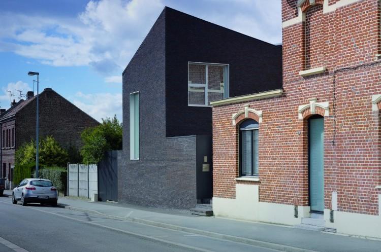Extension Maison de ville à Seclin – Prix de l'extension 2015. Architecte : Emmanuelle Weiss