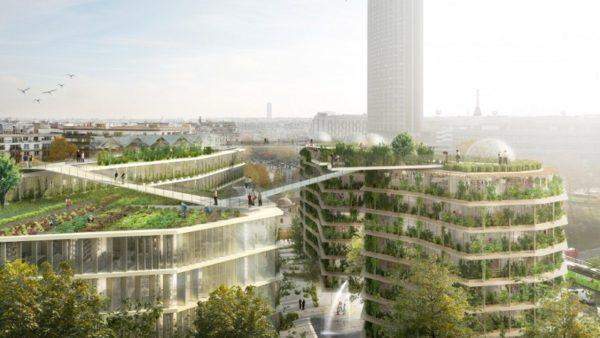 Paris vert chou à la mode de chez nous