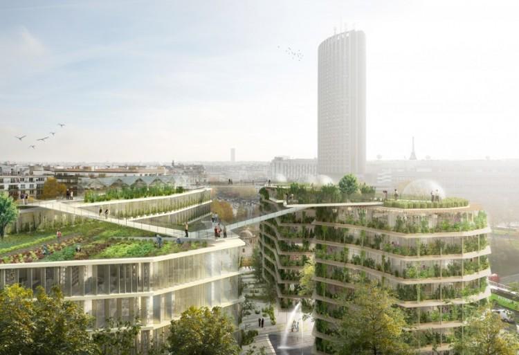 Ternes Villiers @BNP Paribas real estate - J. Ferrier - Chartier Dalix - SLA paysagistes - Splann