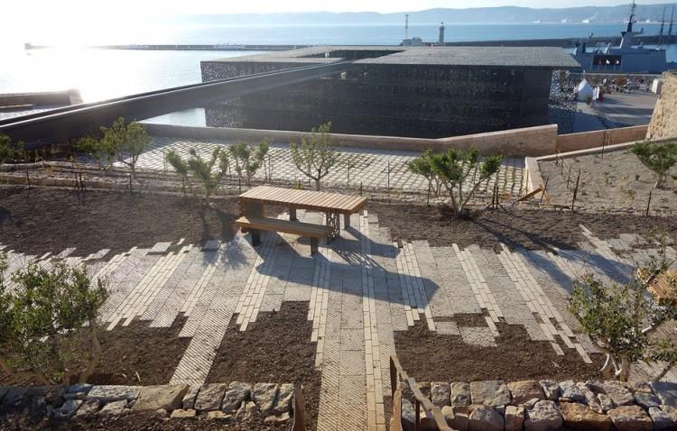 Jardin des Migrations-Fort St Jean à Marseille - Lauréat 2014 Catégorie Jardin urbain @Agence APS