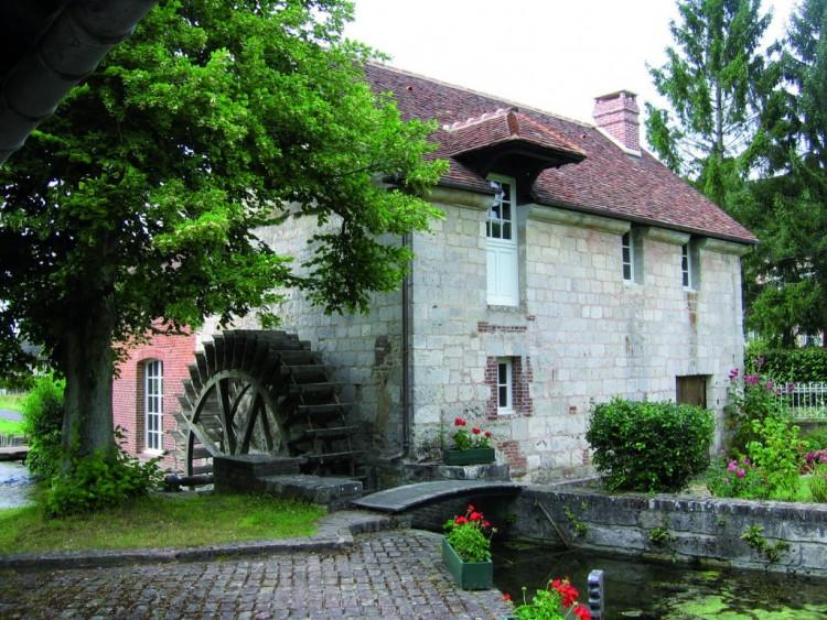 Restauration d'un moulin destiné à un hébergement touristique dans l'Eure (27) Mention spéciale 2015