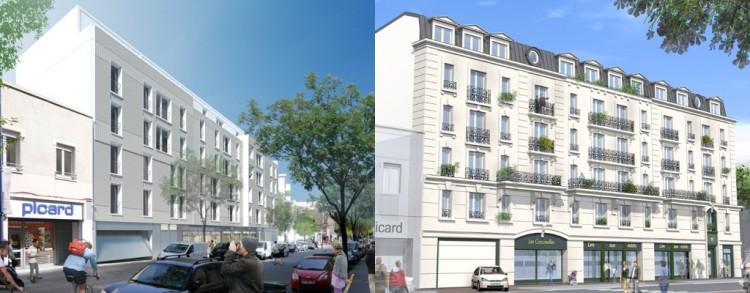 Projet rue de Vanves, Clamart @Nouveaux Reconstructeurs