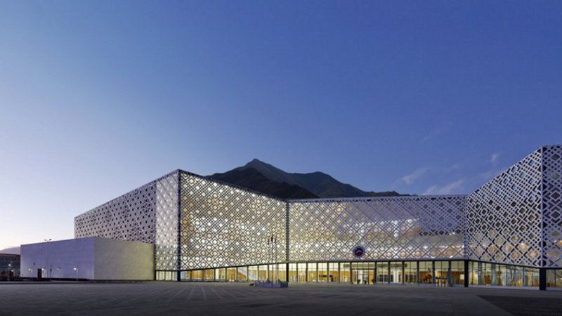 Mus e des sciences naturelles de lhassa par architecture for Synonyme de architecture