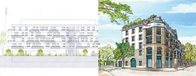 Projet Veuve Bouquin, Le-Blanc-Mesnil @Maires Reconstructeurs