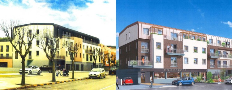 Avant/Après : Projet Jardiland, Palaisau @Maires Reconstructeurs