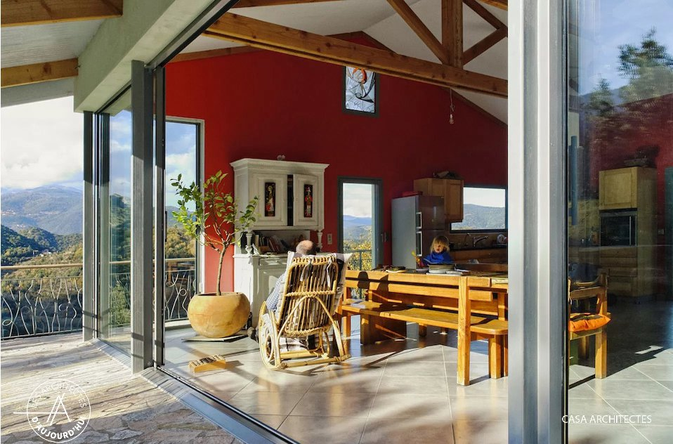 Chroniques d 39 architecture pour un retour de l architecte dans la petite - Architecture petite maison ...