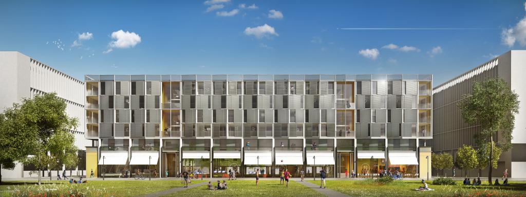 Foyer D Etudiant Architecture : De la mutation du logement étudiant exemple à saclay