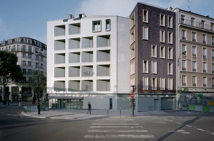Grand Prix Toutes Categories 16 logements locatifs boulevard de la Villette à Paris X @fresh architectures