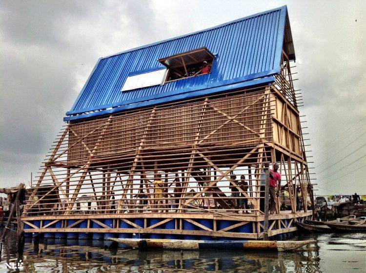 École Flottante de Makoko – Lagos, Nigeria @AKTC - NLE