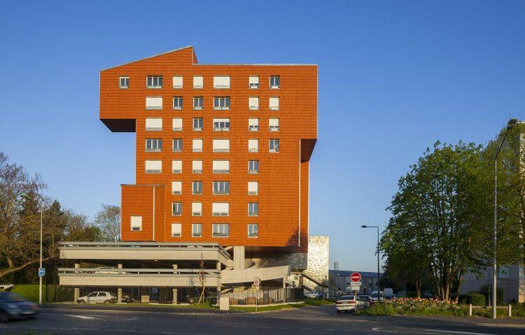 Lauréat 1er prix 2014 60 logements locatifs sociaux à Ris Orangis (91) @Edouard François