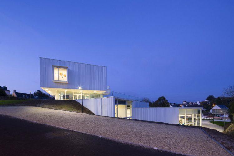 Pôle culturel à Baud (63), 6 000 habitants, par Studio 02 @Luc Boegly