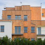12 logements sociaux à ossature bois au Mans