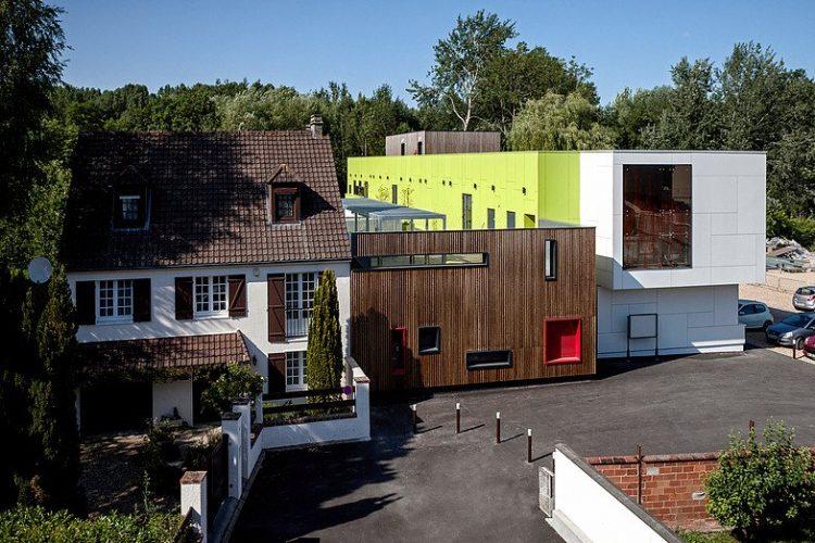 Maison de l'enfance (95), 16 400 habitants, par Atelier Gemaile Rechak @Pierre-Yves Brunaud