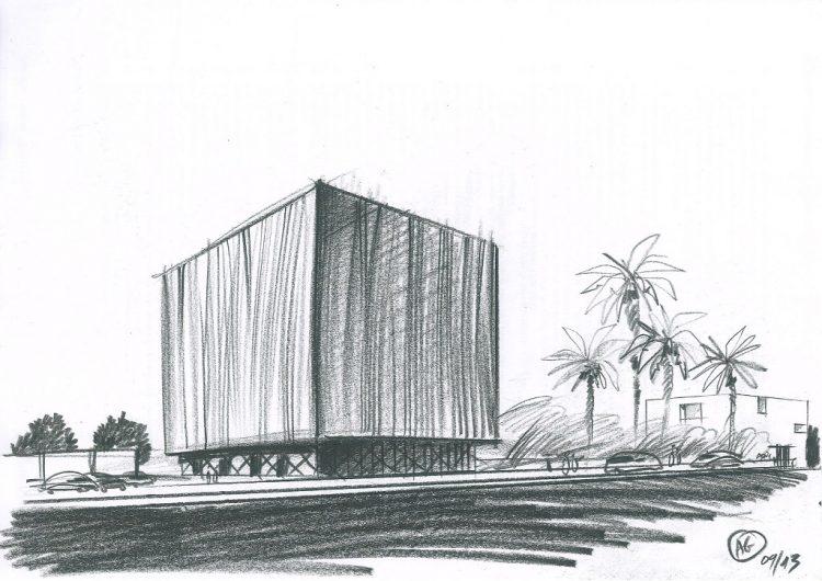 Pavillon d'exposition, Dakar, Sénégal @Arnaud Goujon