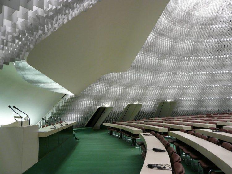 Siège du parti communiste - Oscar Niemeyer @Alice Benusiglio