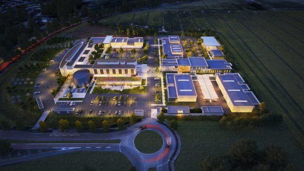 Un campus des métiers de l'automobile dessiné par l'Atelier 2+1