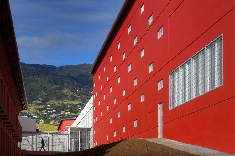 Nouvelle maison d'arrêt de La Réunion @Hervé Douris