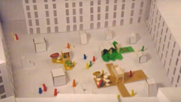Animer la ville et son architecture statique