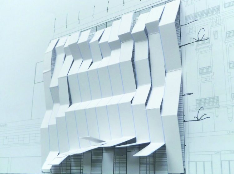 Maquette @ Manuelle Gautrand Architecture