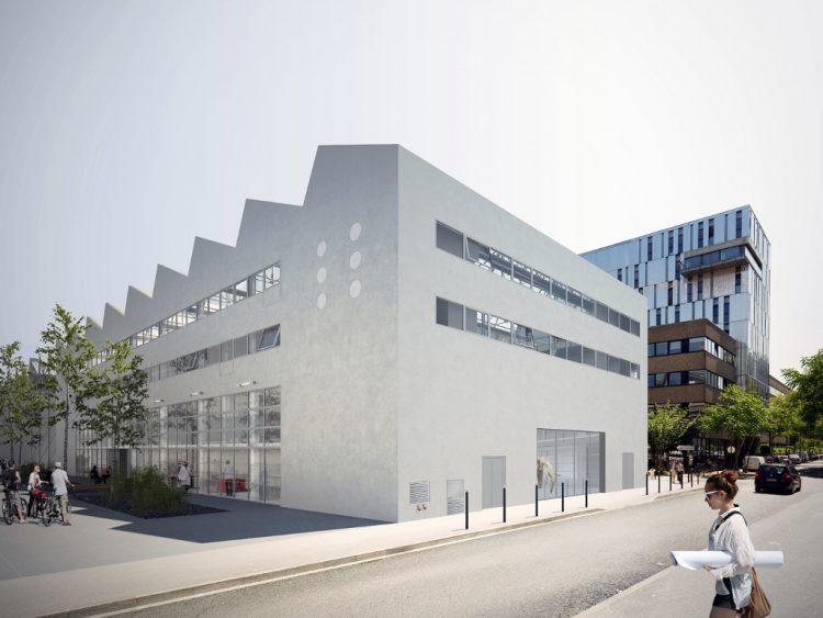 Vue depuis la rue Arthur-III@ LIN architects - F.au