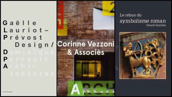 Livres : de l'architecture contemporaine, du design, du patrimoine