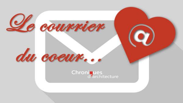 On écrit à Chroniques : courrier du cœur ?
