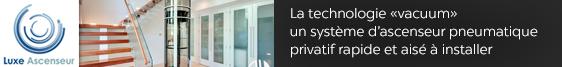 Vers le site Internet de Luxe Ascenseur