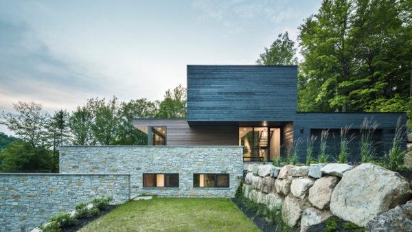 Résidence L'Estrade, à MU et à toits (plats) au Québec
