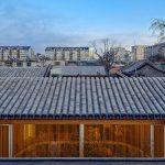 En Chine, une maison de thé dans les Hutongs de Beijing