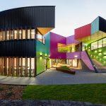 Un kaleïdoscope de couleurs pour ce collège australien