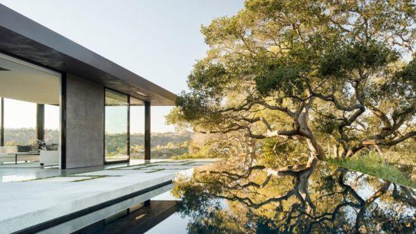 Oak Pass House, une maison translucide