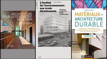 Livres : De l'architecture psychiatrique, des matériaux à l'Institut