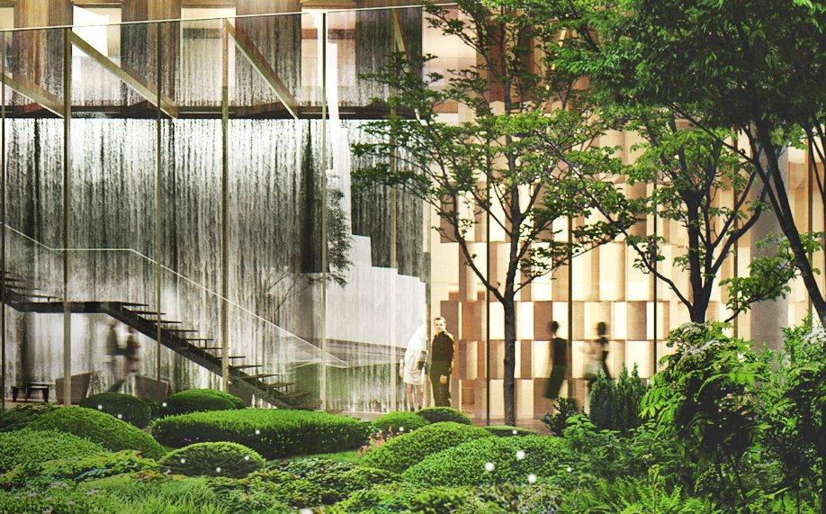 Aurore aux doigts de rose pour la ZAC Rive Gaucheà Paris ? Chroniques d'Architecture # Auberge De La Rive Du Bois
