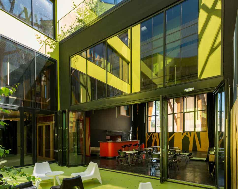 la for t stylis e chaville par laraqui bringer chroniques d 39 architecture. Black Bedroom Furniture Sets. Home Design Ideas