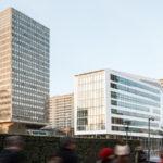 Encore une nouvelle façade en Corian : Silex 1, signé AIA