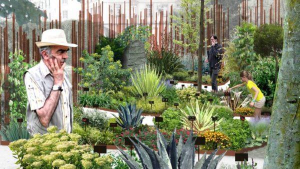 «Jardins du monde en mouvement», éphémère dialogue avec l'architecture