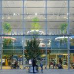La gare d'Angers, porte d'entrée végétale