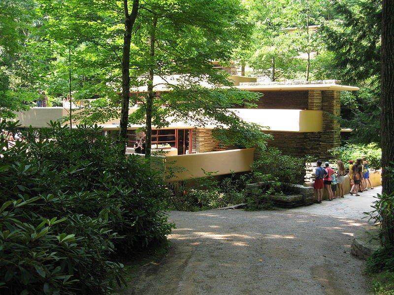 Prague Frank Lloyd Wright Sors De Cette Cascade
