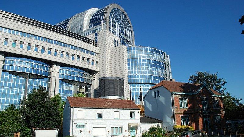 Le Parlement européen de Bruxelles rase gratis