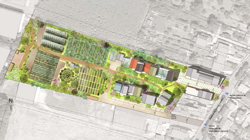 Le grand jardin de Po&Po sent bon le Métropolitain