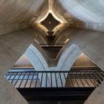 Un musée d'art contemporain de pied en Cap