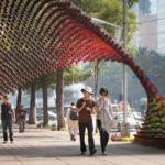 Réversibilité dans la carte du génome urbain