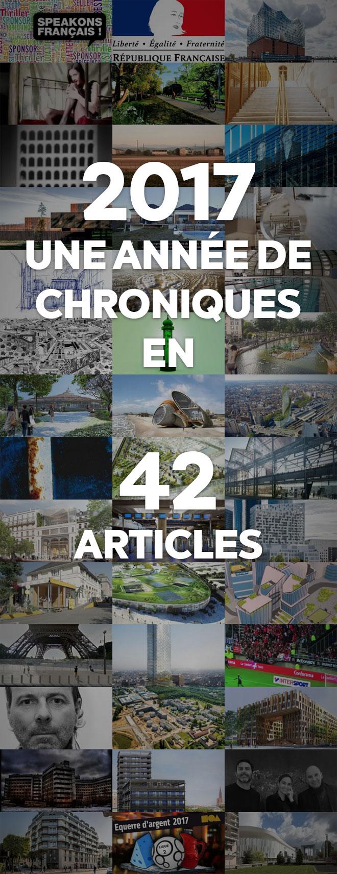 2017 une année de Chroniques en 42 articles